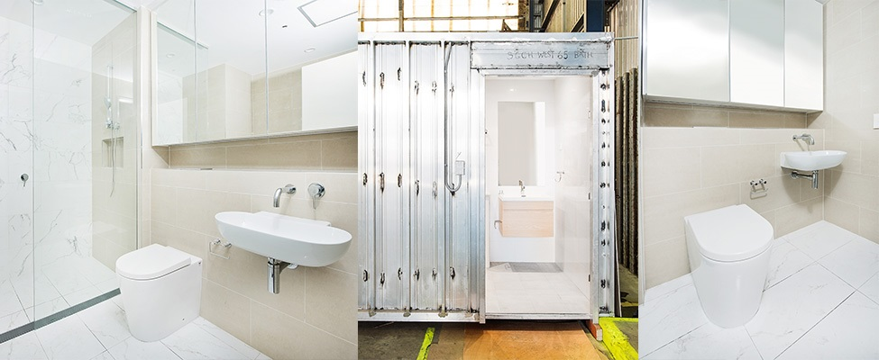 BUILDOM ™ All In One Bathroom Pods