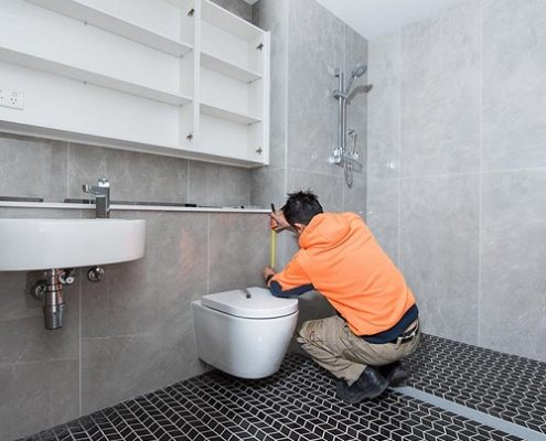 BUILDOM ™ manufacture high quality, modular bathrooms offsite on a subassembly line