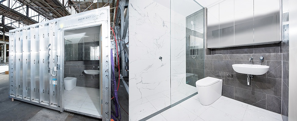 BUILDOM ™ Pre-built bathrooms