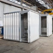 BUILDOM ™ bathroom pods offer a range of ready built, prefabricated pods